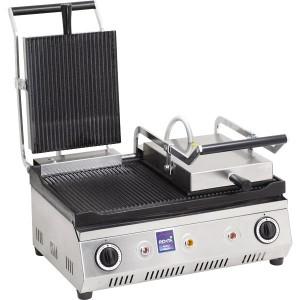 Çift Kapak Oluklu Elektrikli Tost Makinasi