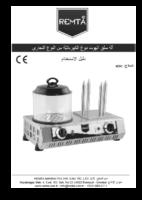 آلة سلق الھوت دوغ الكھربائیةّ من النوع التجاري KAZIKLI HOT DOG KULLANIM KILAVUZU