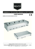 ELECTRIC BEINMARIE AND PIE HEATERS MANUAL