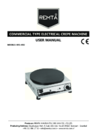 ELECTRIC CREPE COOKER MANUAL