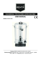 ELECTRIC FILTER COFFEE BOILER MANUAL