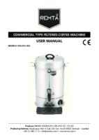 ELECTRIC FILTER COFFEE BOILER MANUAL
