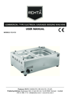 ELECTRIC HOTDOG BOILER MANUAL