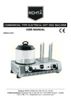 ELECTRIC HOTDOG COOKER MANUAL