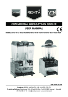 ELECTRIC JUICER COOLER MANUAL