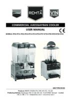 ELECTRIC JUICER COOLER MANUAL