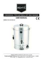 ELECTRIC MILK BOILER MANUAL