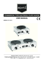 ELECTRIC PLETY COOKER MANUAL