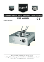 ELECTRIC SAND COFFEE MANUAL