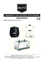 ELECTRIC SOUP WARMER MANUAL