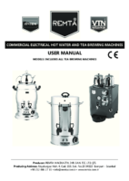 ELECTRIC TEA AND WATER BOILER MANUAL