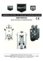 ELECTRIC TEA AND WATER BOILER MANUAL