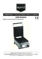 ELECTRIC WAFFLE COOKER MANUAL