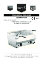 GAS FRYER MANUAL