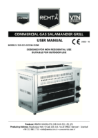 GAS SALAMANDAR GRILL MANUAL